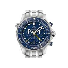 Omega Seamaster Diver GMT Chronograph 212.30.44.52.03.001 - Unworn Box & Papers