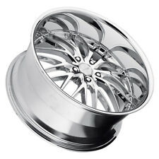 MRR GT1 20x8.5/20x10 5x115 Chrome Wheels Rims (Set of 4)