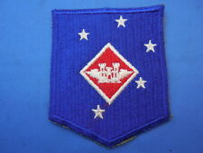 USMC MARINE CORPS 1 MAC ENGINEERS  PATCH WW II CUT EDGE NO GLOW ORIGINAL & OLD