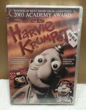 NEW Harvie Krumpet (DVD, 2004) Geoffrey Rush, Factory Sealed US SELLER