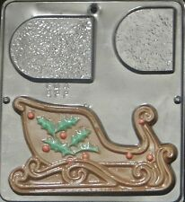 Sleigh Right Side Chocolate Candy Mold Christmas 2071 NEW