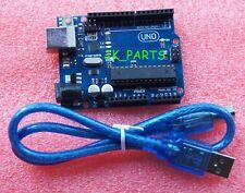UNO R3 Board ATmega328P-PU ATmega16U2 For Arduino Compat+USB Cable