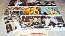 VALENTINO ! ken russell  jeu 9 photos cinema lobby cards 1977