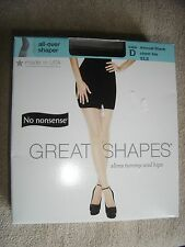 No Nonsense Great Shapes All Over Shaper Almost Black Sz D Sheer toe Private
