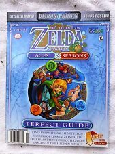 LEGEND of ZELDA ORACLE of SEASONS& AGES Light Wear PERFECT GUIDE Versus Books 25