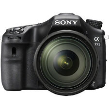 Sony Alpha A77 II Wi-Fi Digita  DSLR Camera 16-50mm f/2.8 Lens SONY USA WARRANTY