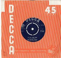 """The Rolling Stones - It's All Over Now 7"""" Single 1964"""