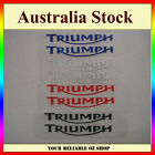 Triumph Sticker Decal Badge Emblem Logo Bike ATV Quad Motorcycle Dirt Fuel Tank