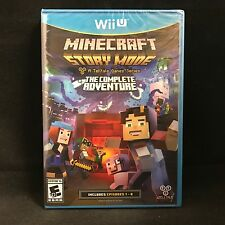 Minecraft Story Mode The Complete Adventure (Wii U) BRAND NEW