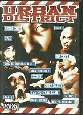 RARE / DVD - URBAN DISTRICT : RAP US - DMX, 2PAC, 50 CENT, METHOD MAN, JAY-Z, DR