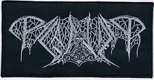 PAGANIZER logo Patch dismember revolting  unleashed divine eve entombed coffins