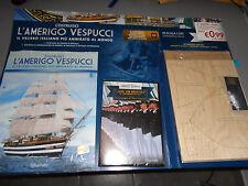 N°1 USCITA + DVD COSTRUISCI L'AMERIGO VESPUCCI IL VELIERO ITALIANO HACHETTE