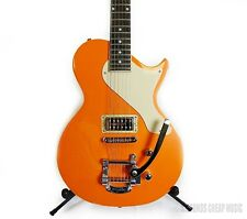 AXL USA AL-1055 Bel Air Electric Guitar w/ Bigsby - Sparkle Orange #1016