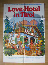 Filmposter * Kinoplakat * A1 * Love-Hotel in Tirol * EA 1978