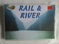CHINA - RAIL & RIVER  TRAIN VIDEO DVD-R