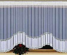 Large Amazing White Jardiniere Net Curtain 600cm x 160cm Window Decoration