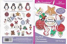 Stuffed Christmas Ornaments  Anita Goodesign Embroidery Design