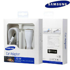 OEM Retail Samsung Galaxy S6 S7 Note 4 5 Adaptive Fast Car Charger+5Ft Cable