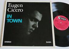 EUGEN CICERO / WITTE / ANTOLINI IN TOWN ORIG SABA TANNENBAUM LP VG++