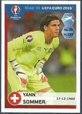PANINI ROAD TO UEFA EURO 2016- #353-SWITZERLAND-YANN SOMMER