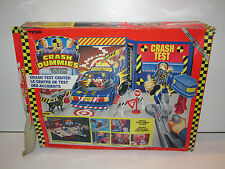 INCREDIBLE CRASH DUMMIES 1991 CRASH TEST CENTER 99% COMPLETE MIB TYCO