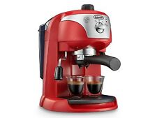 De'Longhi Traditional Pump Espresso Latte Cappuccino Filter Coffee Machine RED