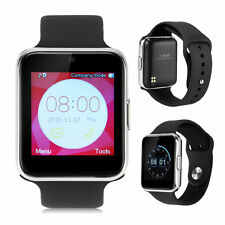 "GW08 1.54"" Bluetooth Smart Wrist Watch Band Phone Mate TF&SIM For Android iPhone"