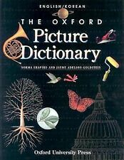 The Oxford Picture Dictionary English/Korean: English-Korean Edition (-ExLibrary