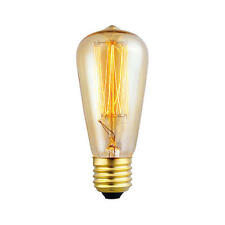 60w Squirrel Cage Bulb E27 Edison Screw Deco Vintage Style Filament Lamp H 110mm