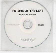 (GV653) Future Of The Left, The Hope That House Built   - DJ CD