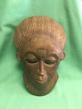 Vintage Wooden Hand Carved Tribal Mask Decorative wall hanging Mask Collectible