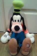 Disney Store Authentic Patch Goofy BIG Plush Doll 20 Stuffed Animal  Retired toy