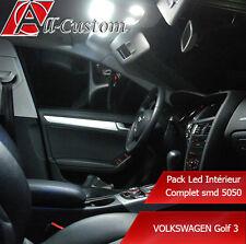 Pack led intérieur Volkswagen Golf 3   4 ampoules