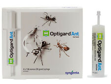 4 Tubes Optigard Ant Control Bait Gel 30 grams per Tube 1 Plunger