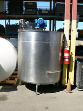 GROEN  800 Gallon Stainless Steel Jacketed Mixing Tank w/ Sweep Agitation