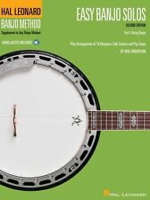 Banjo Method Easy Solos For 5-String Beginner LEARN TO PLAY Book Online Audio