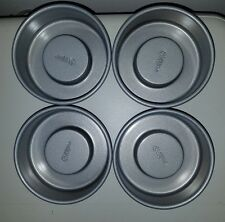 EUC! 4 WILTON TASTY-FILL MINI CAKE PAN SET