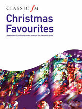 Classic FM Christmas Favourites Christmas Hymns Piano Solo Easy FABER Music BOOK