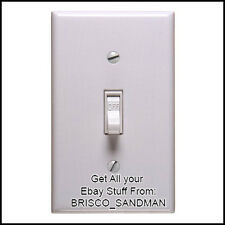 Fridge Fun Refrigerator Magnet ELECTRIC LIGHT SWITCH FUNNY Looks Real!