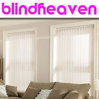 VERTICAL BLINDS / MADE TO YOUR SIZES / CHOOSE FROM POPULAR PATTERNS & COLOURS