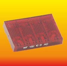 VQC10 LOT OF 1 GERMAN DDR LED DISPLAY 4 DIGITS 5x7 DOT MATRIX MODULE WF VQC10