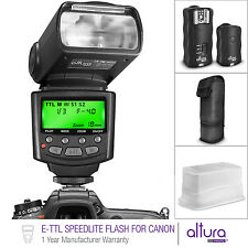 E-TTL Speedlite Flash Kit with Wireless Trigger for CANON DSLR by Altura Ph