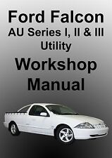 FORD FALCON AU UTE Series 1-3 WORKSHOP MANUAL
