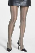 WOLFORD OMBRE Tights Pantyhose in Cornstalk/Black Sz:L Ret: $62 New/Packaged