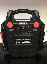 CENTECH 3-in-1 Portable Power Pack with Jump Starter