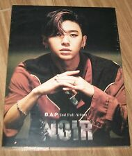 B.A.P NOIR 2ND ALBUM BANG YONG GUK VER. K-POP CD + FOLDED POSTER SEALED