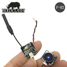 Boldclash F-02 5.8GHz 48CH AntiShock 3.4g FPV AIO CAM TX fr Tiny Whoop Inductrix