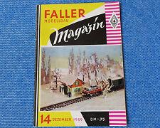 Faller  AMS --  Modellbau Magazin 14 von 1959 !