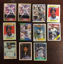 Dave Winfield 11 Card Modern Original Baseball Lot Not Professionally Graded
