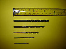 5 Piece Metric Drill Set DIN388 1 2 3 4 5 mm Hobby DIY Metalwork NEW